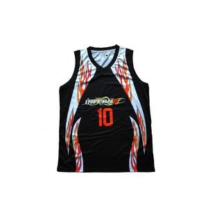 Custom Unisex Fully Sublimated Printed Basketball Jersey